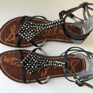Sam Edelman Gladiator Ginger Studded Sandals new